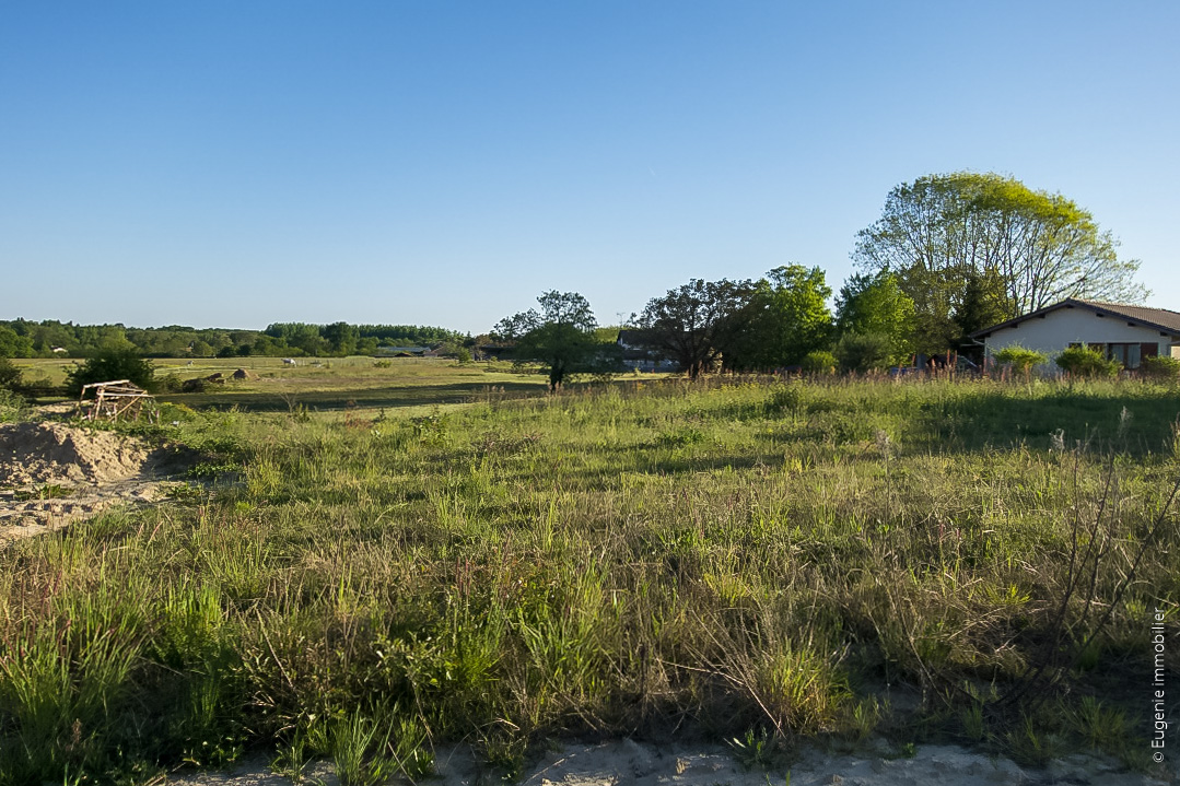 Terrain 754 m² Constructible Viabilisé Borné