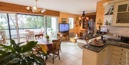 Appartement T4 86 m² : T3 61m² + Studio 25m² + Terrasse 17 m² Idéalement situé