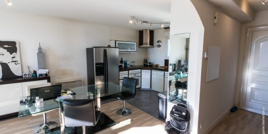 Appartement T3 72m² carrez 100m² au sol