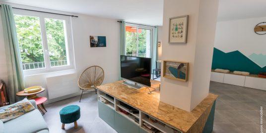 Appartement 80m² T4 au Calme + Balcon/Terrasse de 15m² Sans vis à vis