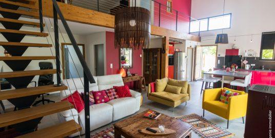 Maison/Loft écologique 145m² T4 + Terrasse à 3mn de la Plage de la Milady et d'Ilbaritz